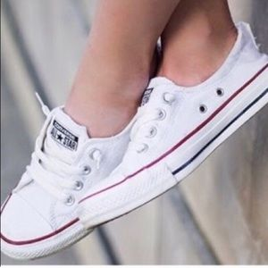 CONVERSE slip on Chuck Taylor low top sneakers